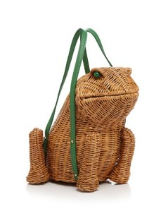 Spring forward wicker frog