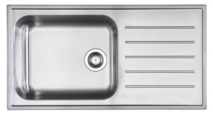 Ikea-Boholmen-stainless-drop-in-drainboard-sink