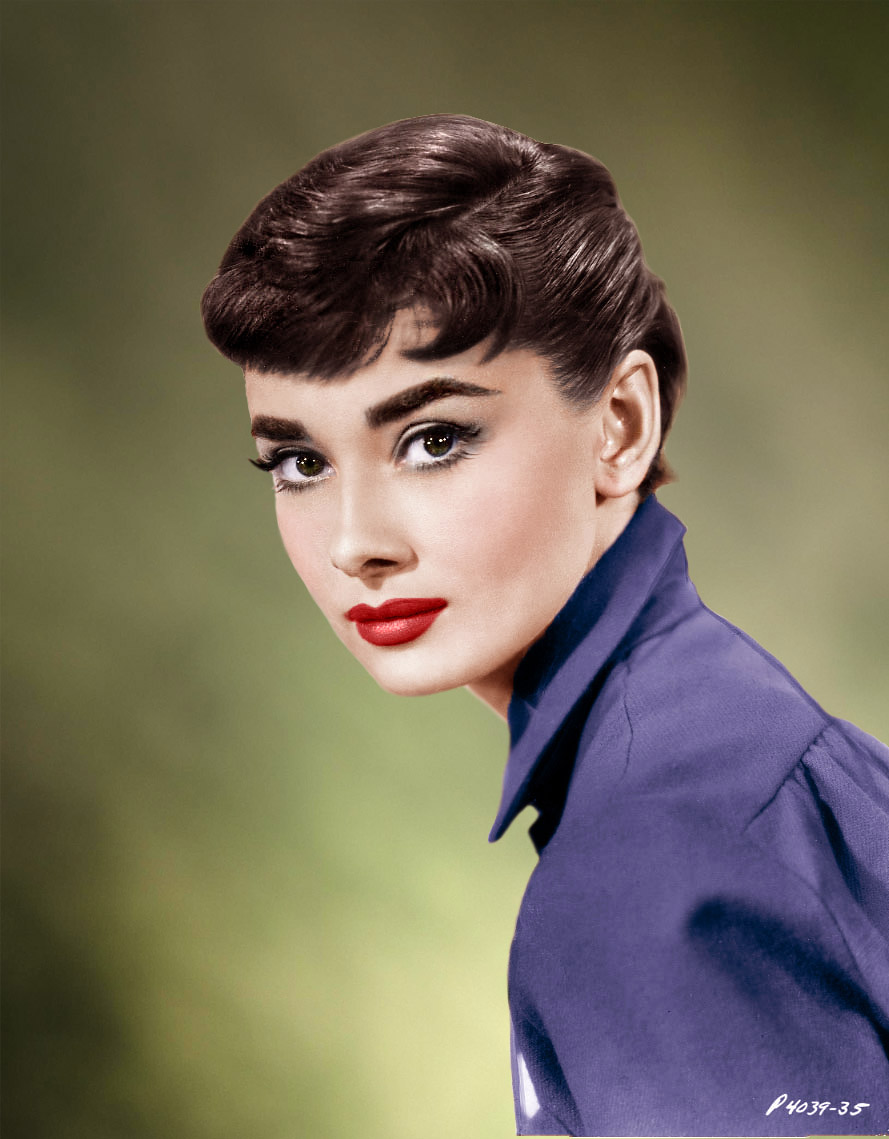 82fad25d999 Adoring  The portraits of an icon  our Audrey… – Folly Fatale