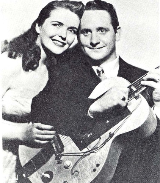 Les and his wife Mary Ford